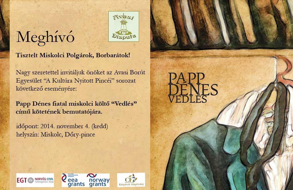 Papp Dénes - november 4 - Meghívó -v2
